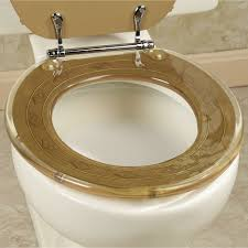 Gold Toilet Seat Cover