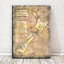 2018 the lord of the rings new zealand maple canvas art oil painting modern home decor wall art poster pictures for kid room no frame from wallstickerworld  on home decor wall art nz with 2018 the lord of the rings new zealand maple canvas art oil painting