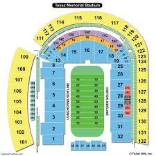 Longhorns Seating Chart Darrell K Royal Texas Memorial Stadium Maplets Texas
