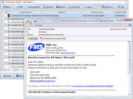 Microsoft Access Email Add In Program Emails Messages With Pdf