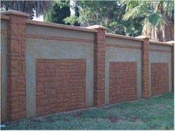 Small Picture Modern Brick Fence Designs Brick walls Walls front fence wall
