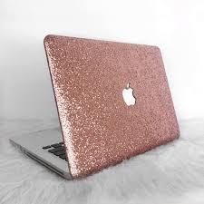 Light Pink Macbook Air Case Light Pink Glitter Macbook Hard Case Macbook Case Macbook