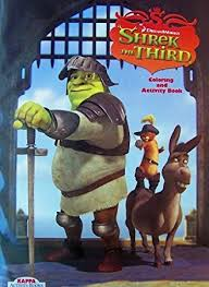 Small Picture Amazoncom Shrek The Third Coloring Book Toys Games