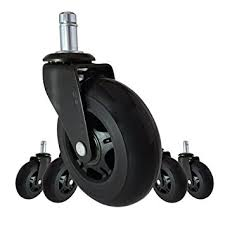 office furniture on wheels. Office Chair Caster Wheels Replacement - Set Of 5 Black 3\u0026quot; HARDWOOD FLOOR Furniture On E