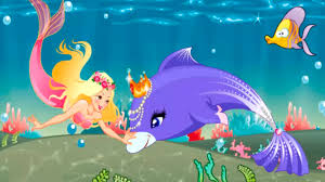 Small Picture Disney Mermaid games Dolphin and the Mermaid Story Baby videos