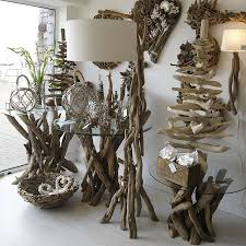 decorative lighting ideas. Furniture Unique Driftwood Floor Lamp For Decorative Lighting Ideas G