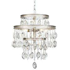 silver and crystal chandelier charmed 7 light silver with champagne mist chandelier with clear crystal beads silver and crystal chandelier