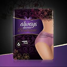 Always Discreet Boutique Underwear Incontinence Pants Large
