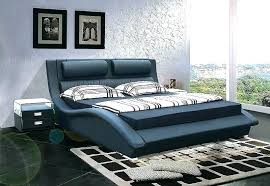 ultra modern bedroom furniture pleasing ultra modern bedroom furniture high quality leather bed soft design ideas