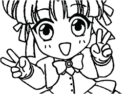 Chibi Anime Drawing Coloring Pages Photo Anime Girl Drawing At Anime