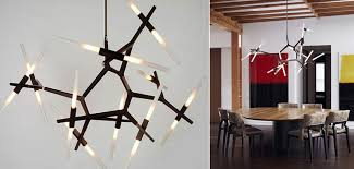 replica lindsey adelman 10 bulbs agnes chandelier black