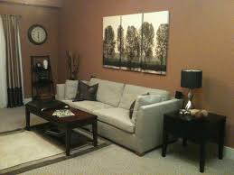 paint colors living room brown fresh two seater midcentury sofas in white and artwork portray at brown painted living room color