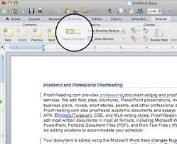 Using Microsoft Track Changes Word For Mac 2011
