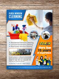 elegant playful window cleaning flyer designs for a window flyer design design 8152955 submitted to professional window cleaning services business needs a
