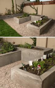 Pflanzk Bel Aus Beton F R Hochbeete Moderne Gartengestaltungen Hochbeet Aus Beton Selber Machen