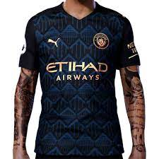 MANCHESTER CITY AWAY JERSEY (KIT) 2020 2021 TANZANIA