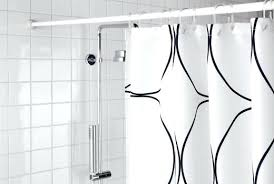 enchanting l shaped shower curtain rod ikea shower curtains rods shower curtain pole l shaped shower
