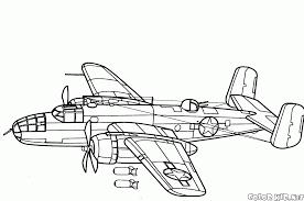 Avion Militaires 48 Transport Coloriages Imprimer