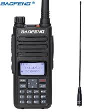 <b>Baofeng DM 1801 Walkie Talkie</b> Dual Band Dual Time Slot DMR ...