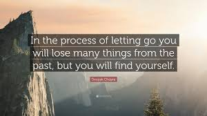 process of letting go quote