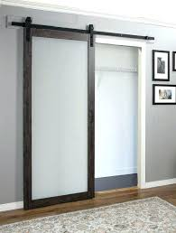 luxury frosted glass barn door in wow home decoration planner diy sliding doors sans