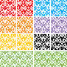 Illustrator Pattern Swatches Inspiration Free Dragon Scales Seamless Pattern Swatch For Adobe Illustrator PSD