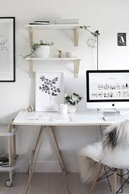 black and white office design. decor and design white home office ideas black