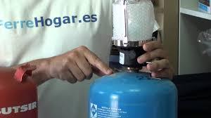 Adaptador Aparato Azul Campingaz A Botella Naranja Butsir
