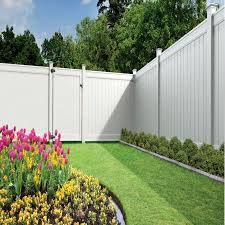 Contemporary Vinyl Privacy Fence Ideas Freedom Readytoassemble Emblem White In Decorating