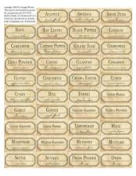 Spice Jar Labels Printable Free Labels Printable The Same Free To Download And Print For