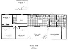 The Kensington Mlk Manufactured Home Floor Plan Or Modular Also 4 Bedroom  Double Wide Mobile Plans ~ Interalle.com
