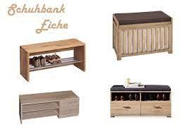 Costway schuhbank »schuhregal«, mit regal aufklappbar 104x30x48 cm. Schuhbank Eiche Sitzbank