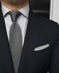 Light Grey Pinstripe Suit Combinations Black Jacket White Shirt With Light Grey Pinstripes Light