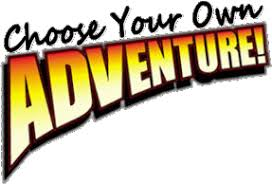 Image result for choose your own adventure
