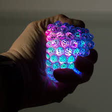 Autistic Light Toys Light Up Gripper Stress Ball