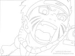 Coloring Pages Nine Tailed Fox Anime Naruto Coloring Pages Nine