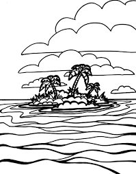 Sea Waves Coloring Pages With Free Printable Ocean Coloring Pages