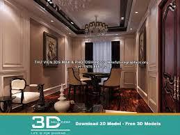 108. Classic Living room 3DSmax file ...