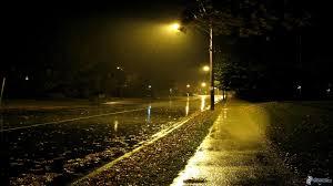 Risultati immagini per lampione di notte