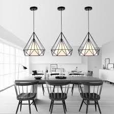 scandinavian lighting design. birdcage pendant lights modern iron minimalist retro light scandinavian loft pyramid lamp metal cage diameter 25 lighting design