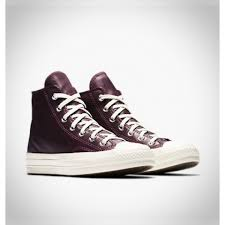 converse chuck 70 leather and tapestry high top sangria shoe 157618c 626 mens womens sneaker
