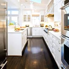 dark wooden floor kitchen dark oak floors white kitchen