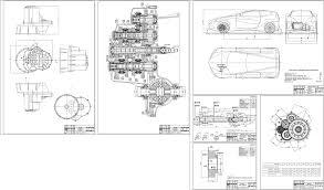 Курсовые и дипломные работы автомобили расчет устройство  Курсовой проект Семиступенчатая коробка передач с двумя сцеплениями легкового автомобиля с колесной формулой 4х2