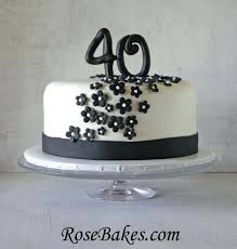 Simple 40th Birthday Cakes You Simple 40th Birthday Cake For Him