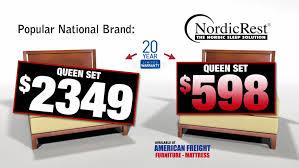 american freight mattress. American Freight NordicRest Mattresses Are Less Expensive Than The Popular National Brand Mattresses. Mattress F