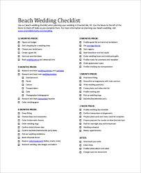 bridal checklist sample wedding checklist 24 documents in pdf word