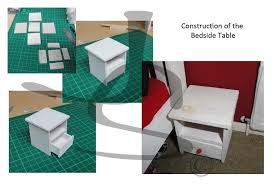 Making Bedroom Furniture Jennys World Of Model Making Tennagers Bedroom Furniture