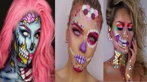 top 15 easy makeup tutorial scary pilation 2017 makeup transformation part 13