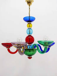 chandelier stunning colored glass color changing gypsy multi coloured tesco archived on lighting with post