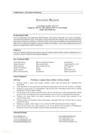 Resume Profile Summary Best Resume Sample Cv Profile Summary Professional Resume Templates